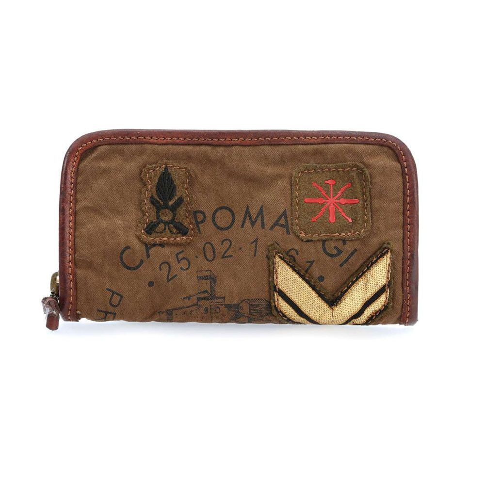 Campomaggi Military Patch Wallet