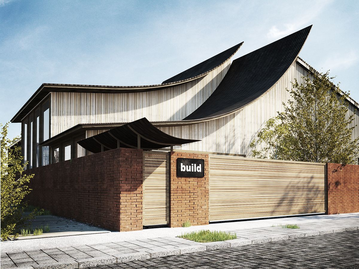 Best Sloped Roof Materails โมเดลสถาปัตย์ 400 x 300