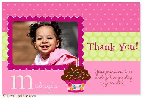 Birthday party thank you card wording my birthday pinterest birthday party thank you card wording bookmarktalkfo Choice Image