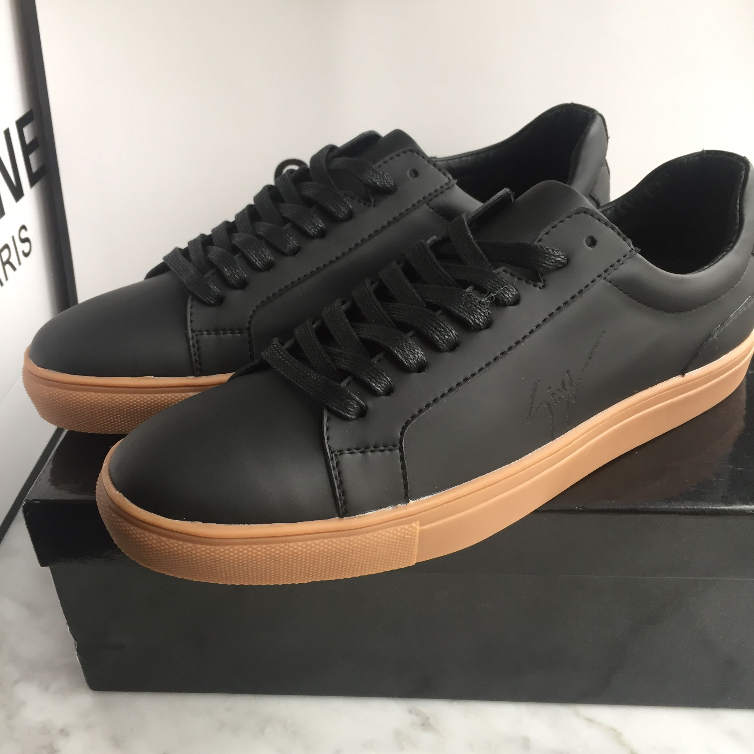 Giuseppe zanotti man shoes leather sneakers