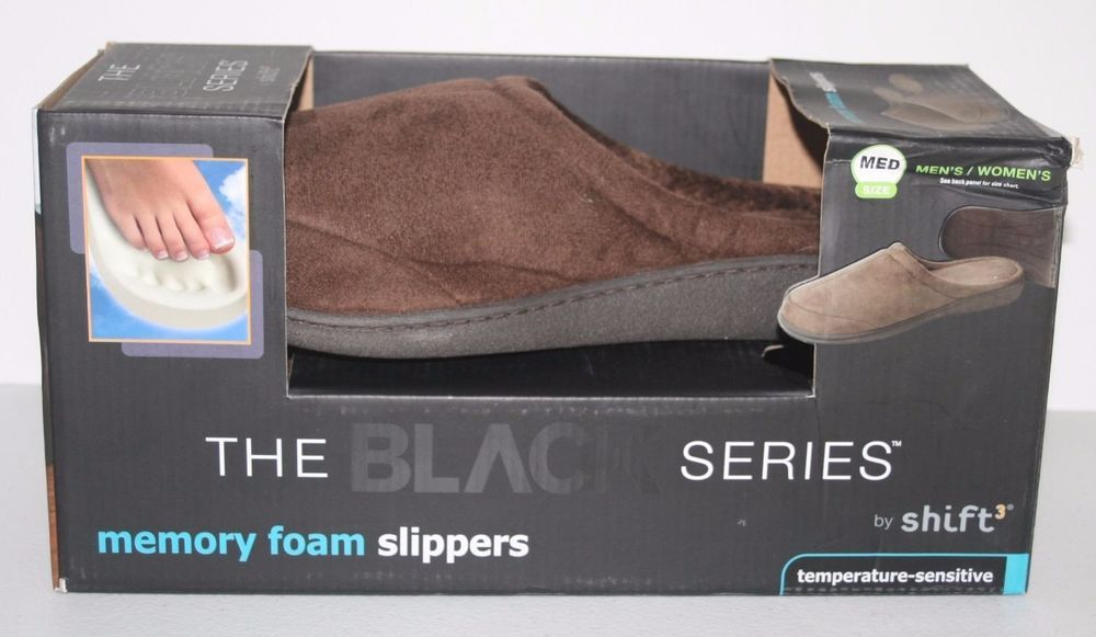 Shift 3 Brown Memory Foam Slippers