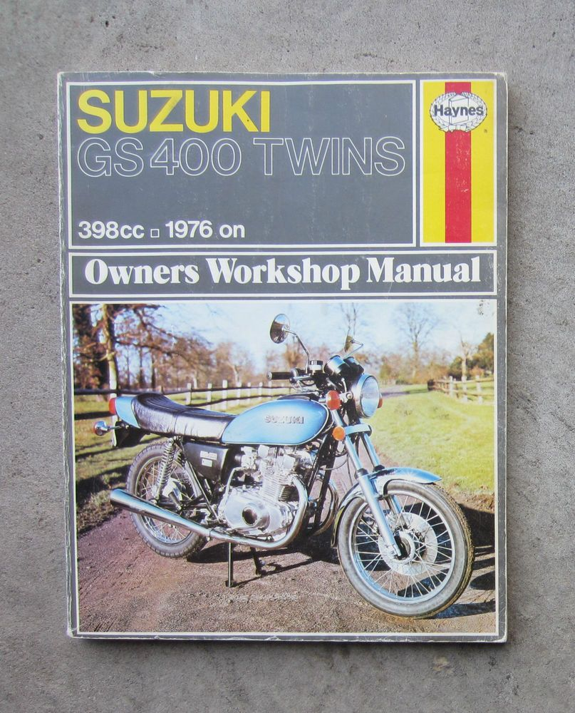 suzuki gs400 motorcycle owners workshop repair service haynes rh pinterest com suzuki gs400 manual free suzuki gs400 manual