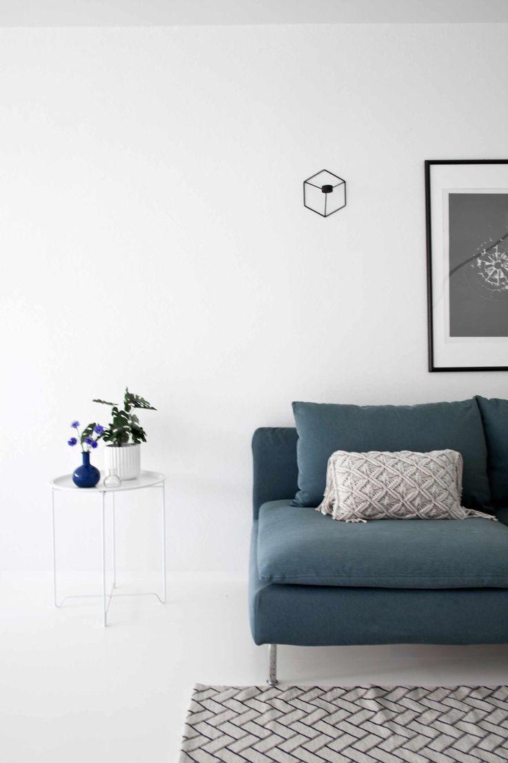 IKEA SÖDERHAMN bank | Minimalistische wohnzimmer ...