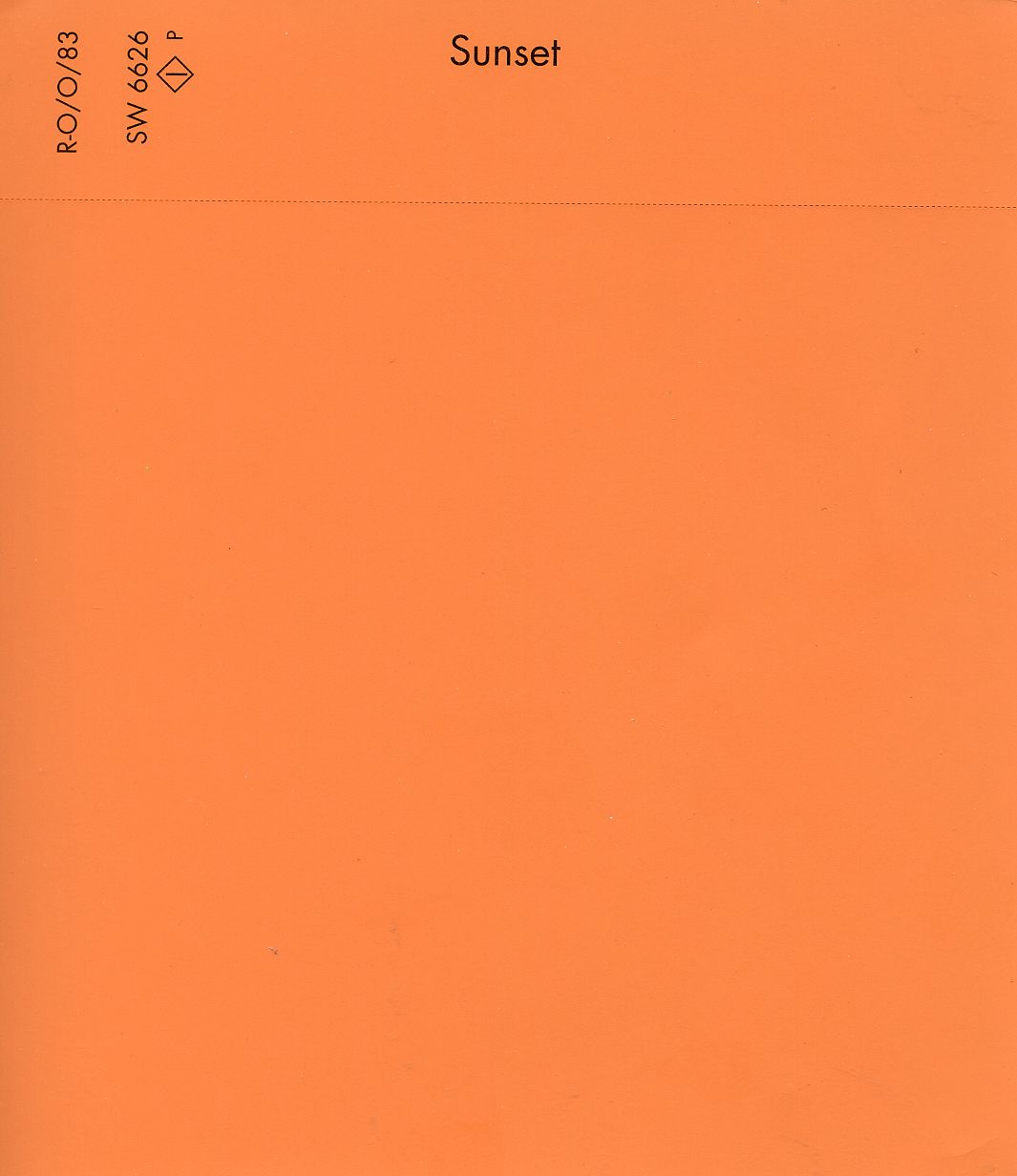 "Tangerine Paint Color Sherwinwilliams Color Studio ""sunset""  2012 Pantone Color Of The"