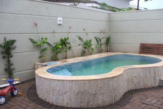 Piscina Acima Do Solo Elevada Vantagens Dicas E 24 Modelos Mini Swimming PoolSwiming
