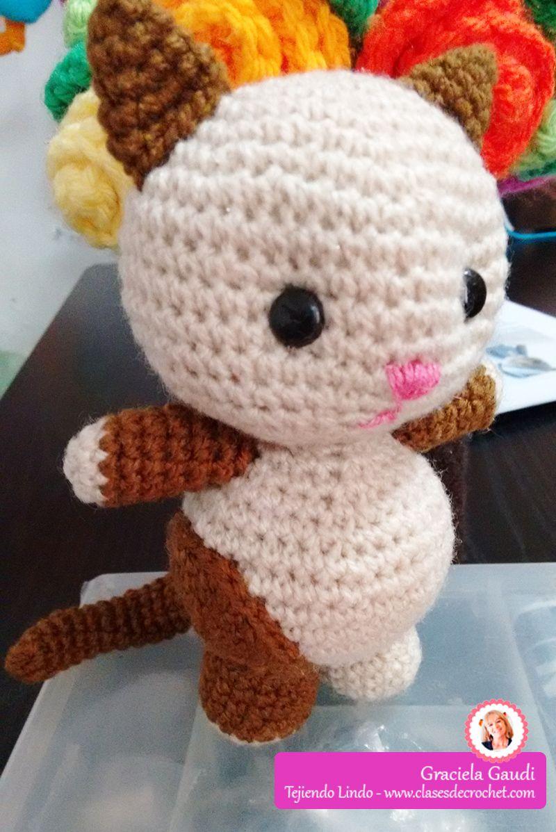 amigurumi #Crochet gatito | Crochet | Pinterest | Gato, Loros y ...