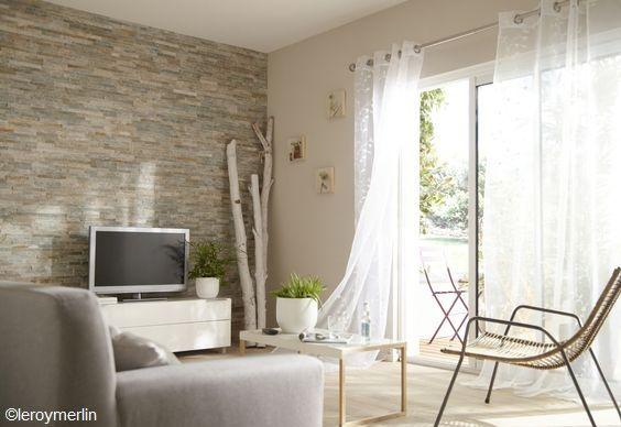 pour un peu d 39 originalit dans votre d co les plaquettes de parement http www m habitat. Black Bedroom Furniture Sets. Home Design Ideas