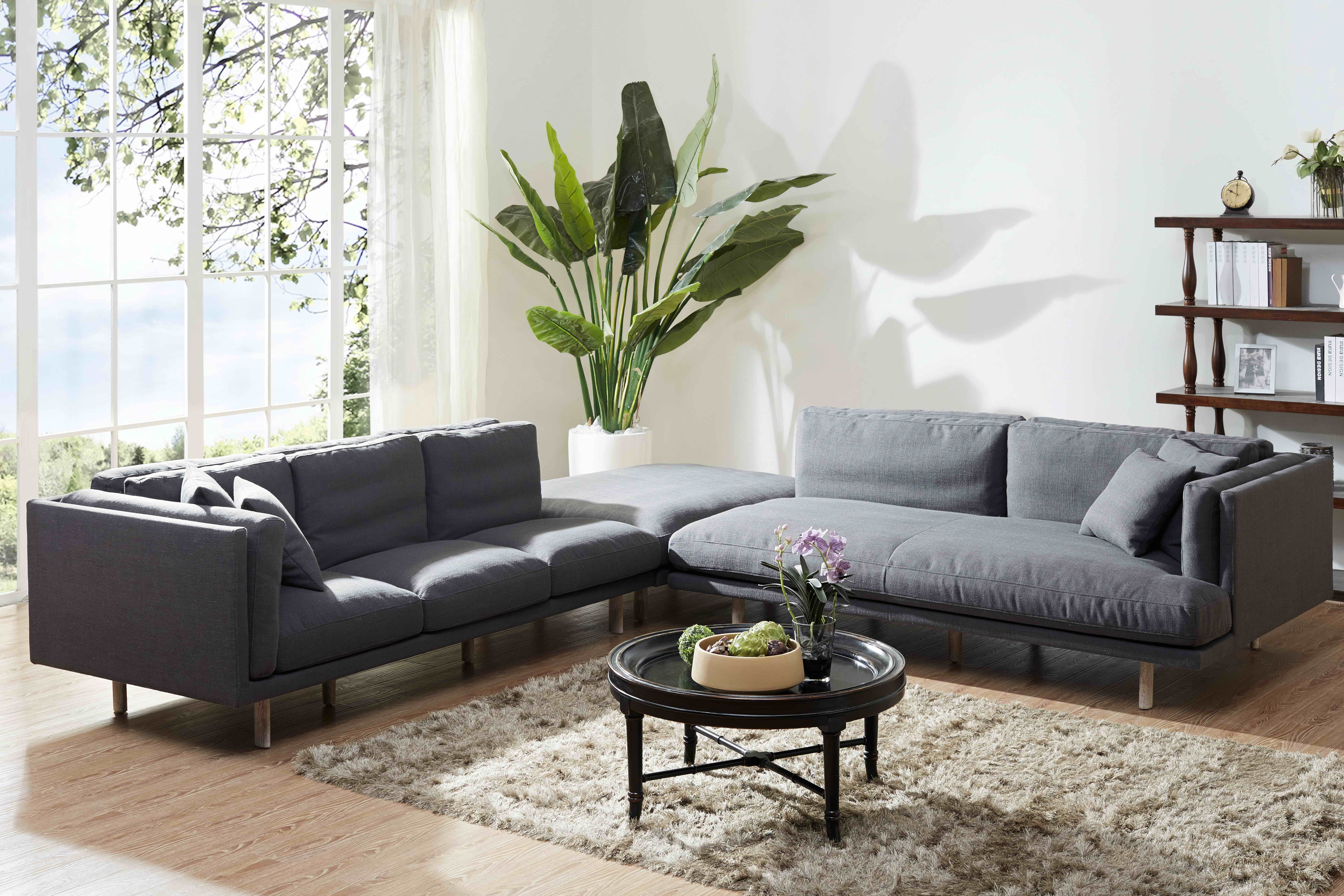 Best Selling Kukahome Fabric Sofa Kuka 067 Home Living Room Living Room Bedroom Upholstered Furniture