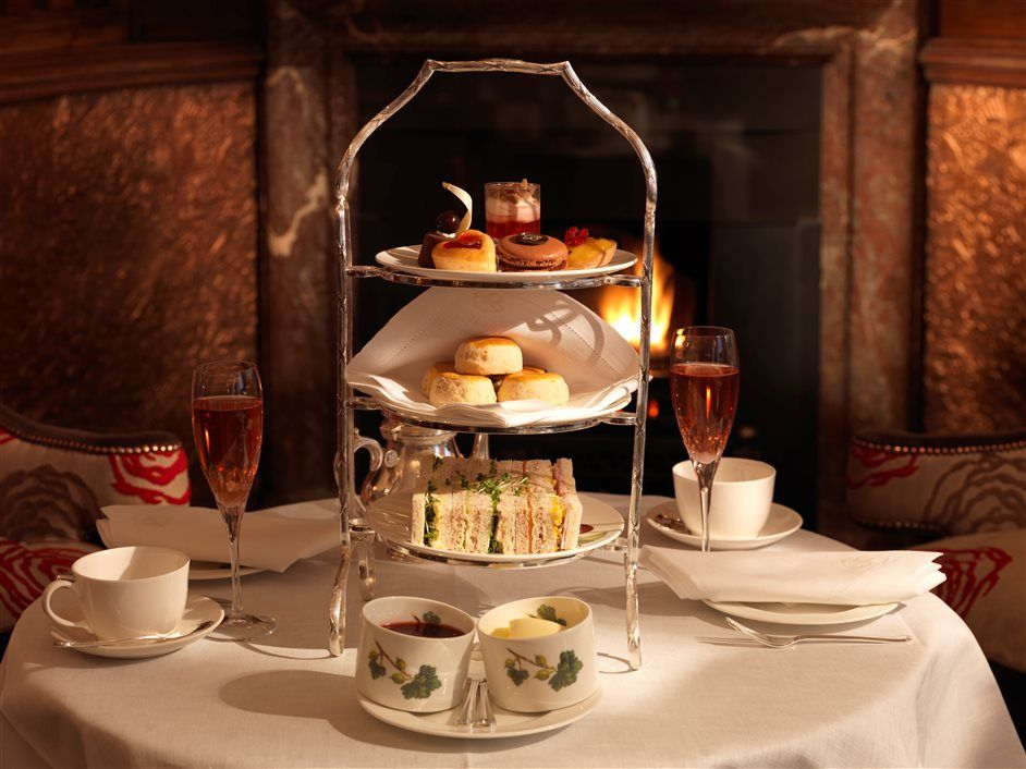 Afternoon Tea A T The Grand Hotel Tynemouth Tyne Wear