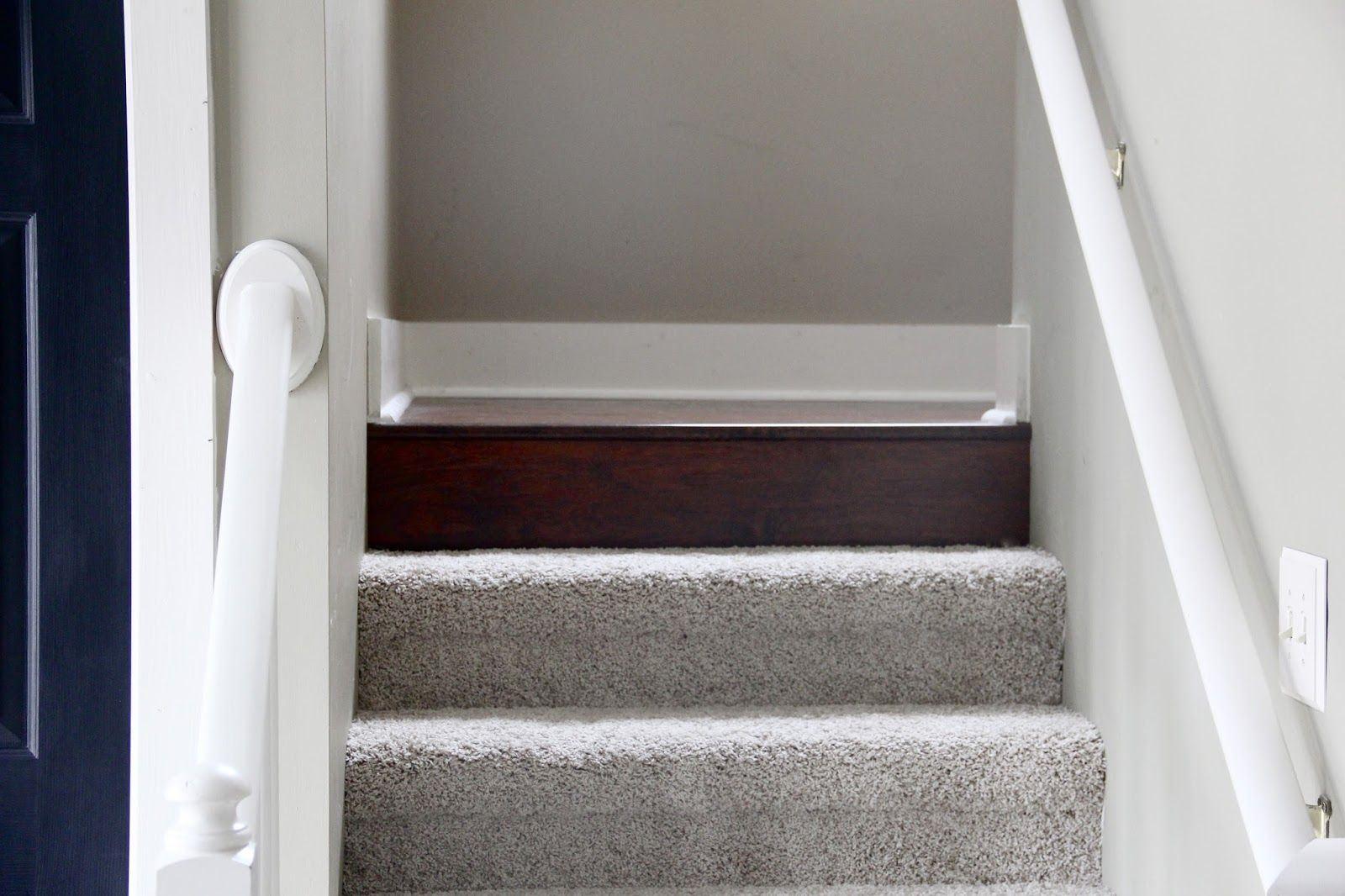 The Yellow Cape Cod: How To Transition Between Two Different Wood Floors
