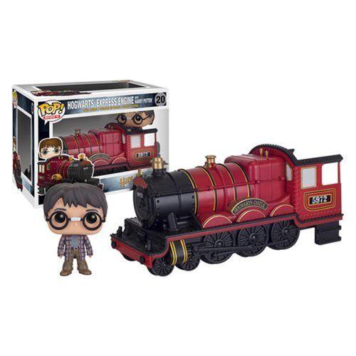 Preorder June 2016 Harry Potter Hogwarts Express Engine Vehicle with Harry Potter Pop! Vinyl Figure