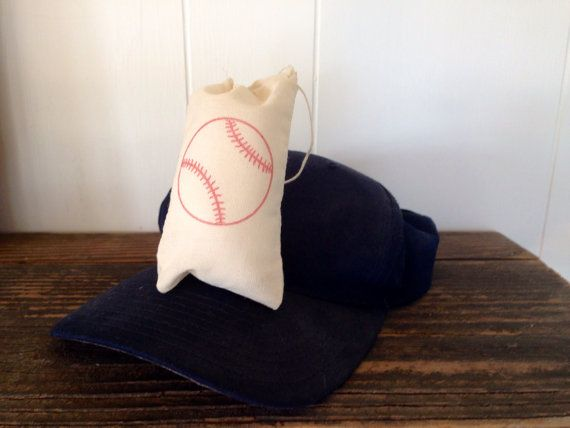 Baseball Favor Bag Boy Birthday Sports Theme Party Muslin Bag Vintage Stamped Set of 10 on Etsy, $16.00