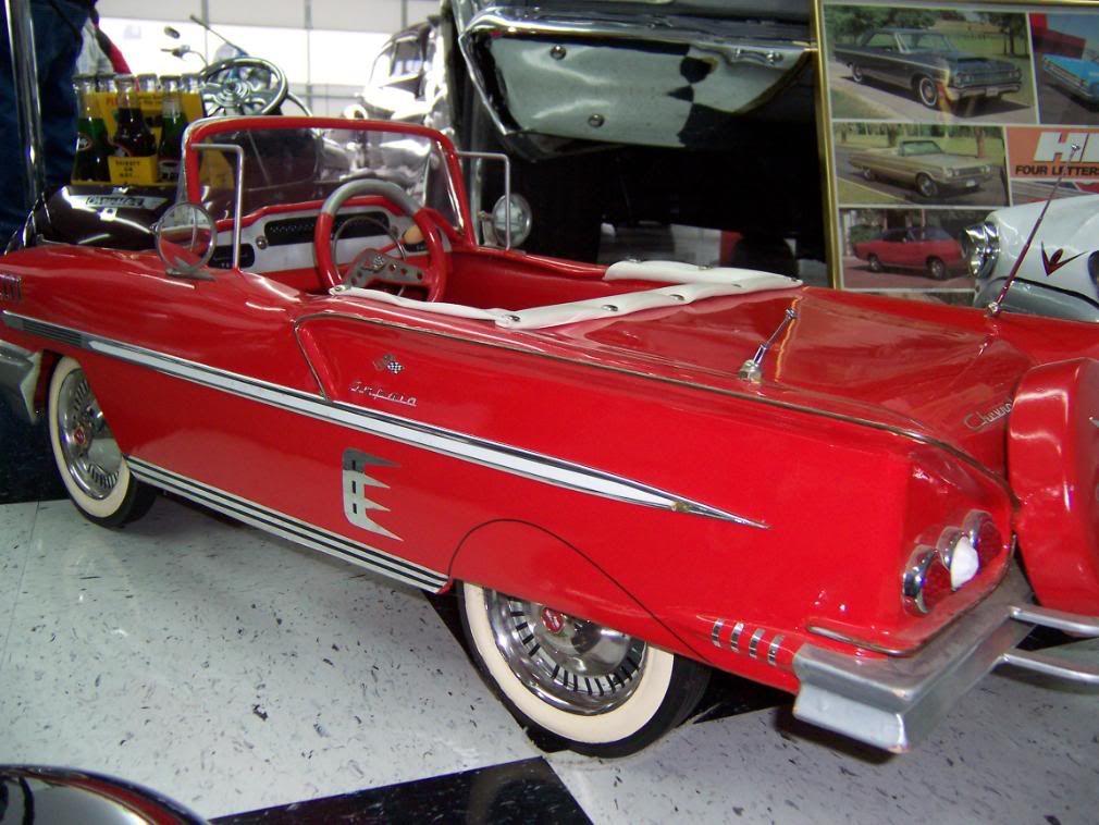 59 impala strollerspedal cars chevytalk free restoration and impala carkids carsvintage