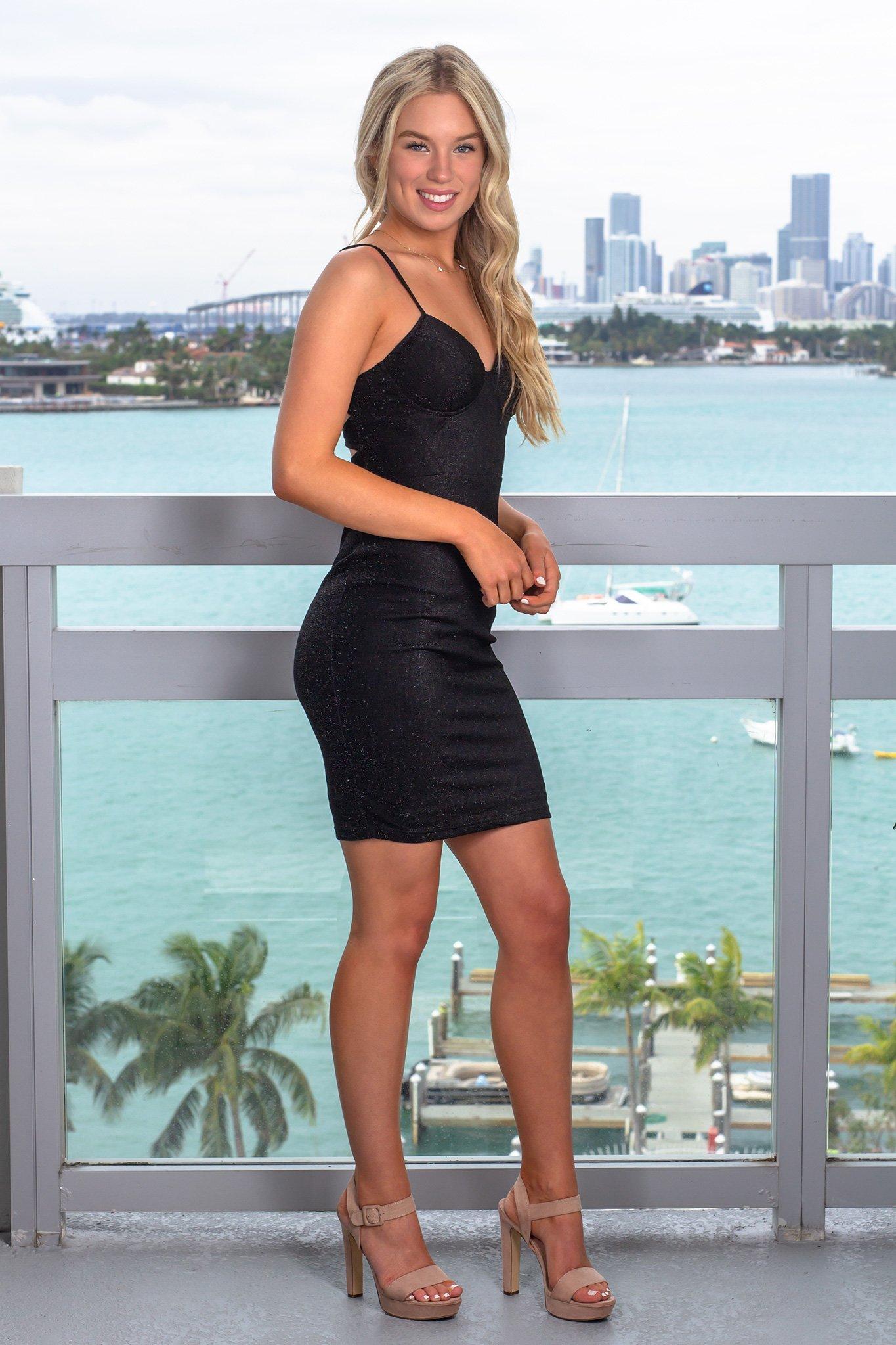 Black Shimmer Short Dress Short Dresses White Short Dress Perfect Little Black Dress [ 2047 x 1365 Pixel ]