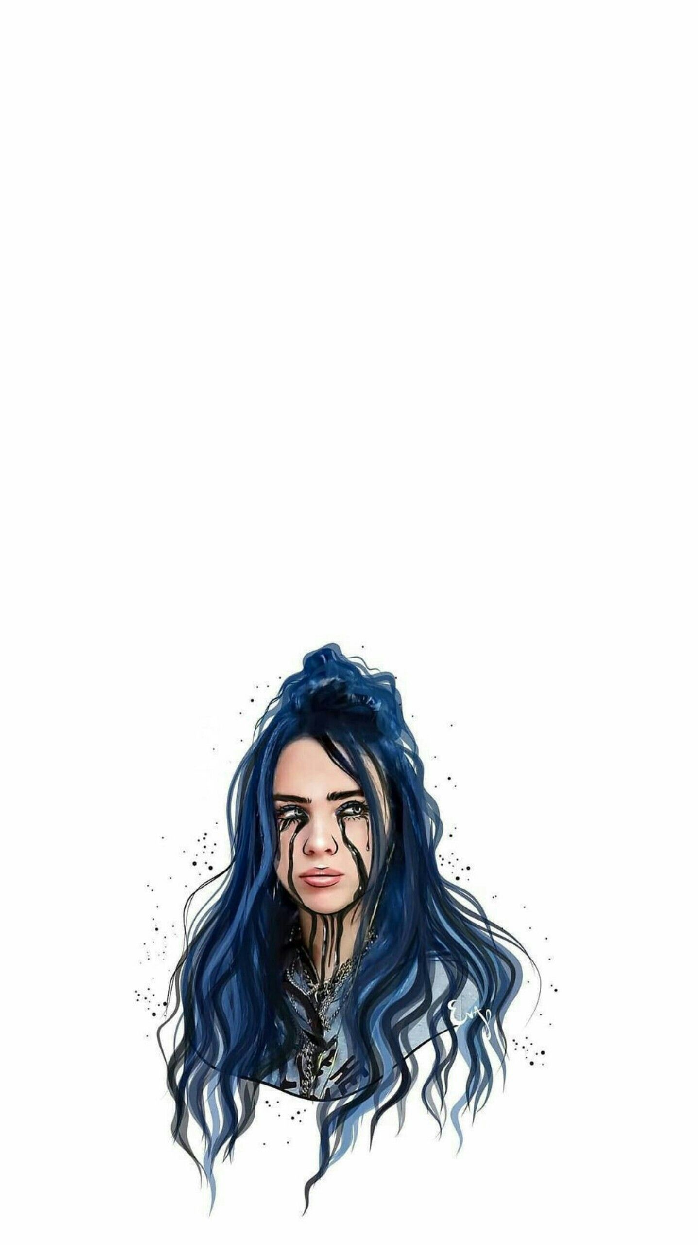 Billie Eilish When The Party S Over Aesthetic Lyrics Wallpaper Iphone Android Billie Billie Eilish Iphone Wallpaper