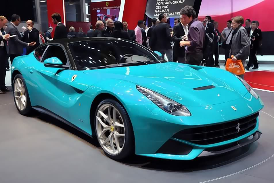 Ferrari F12 Berlinetta - blue | Ferrari F12 Berlinetta ...