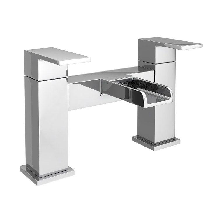 Plaza Waterfall Modern Bath Taps   Tap online, Modern baths and Taps