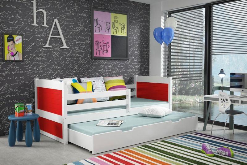 Kinder Doppelbett Mit 2 Matratzen Kinderbett Kinder Bett Bett Ideen