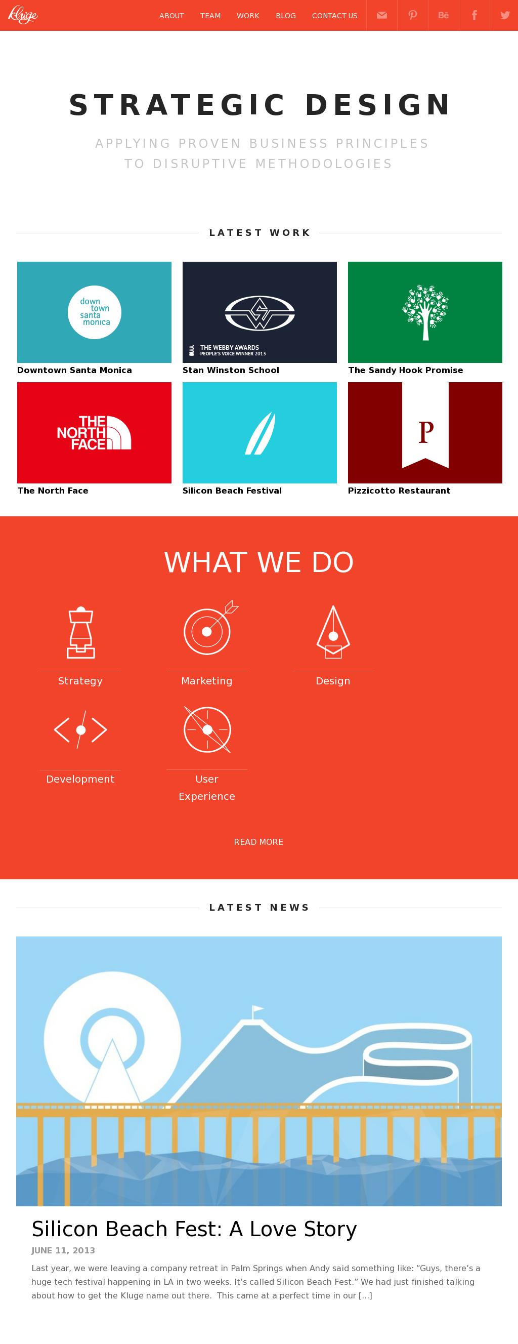 Perfect example of flat web design! - Using twenty twelve wordpress theme