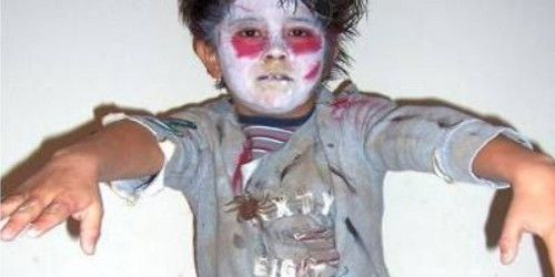 maquillaje halloween nios zombie buscar con google