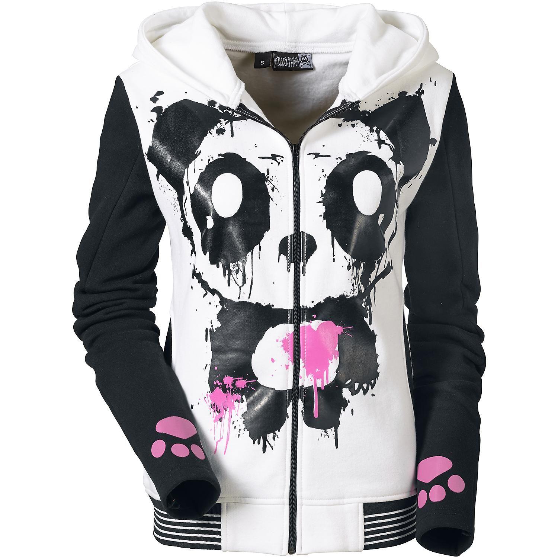 Sweat Wow Killer Kettlebell Workout: Sweat-shirt Zippé à Capuche Par Killer Panda