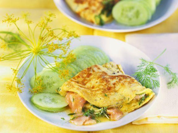 Omelett mit Räucherlachs ist ein Rezept mit frischen Zutaten aus der Kategorie Meerwasserfisch. Probieren Sie dieses und weitere Rezepte von EAT SMARTER!