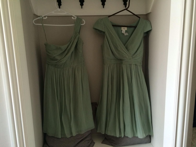Two j crew dusty shale bridesmaid dresses available sizes 8 and for sale two j crew dusty shale bridesmaid dresses available sizes 8 and 10 ombrellifo Choice Image