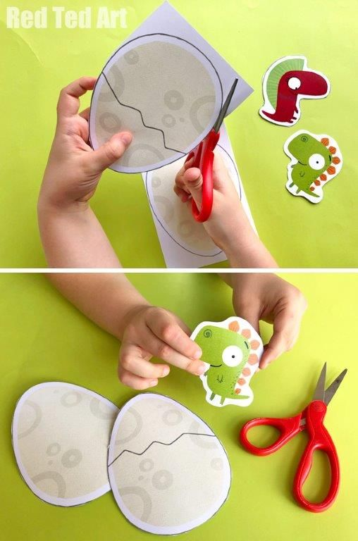 Things To Make - Easy Kids Crafts #dinosaur