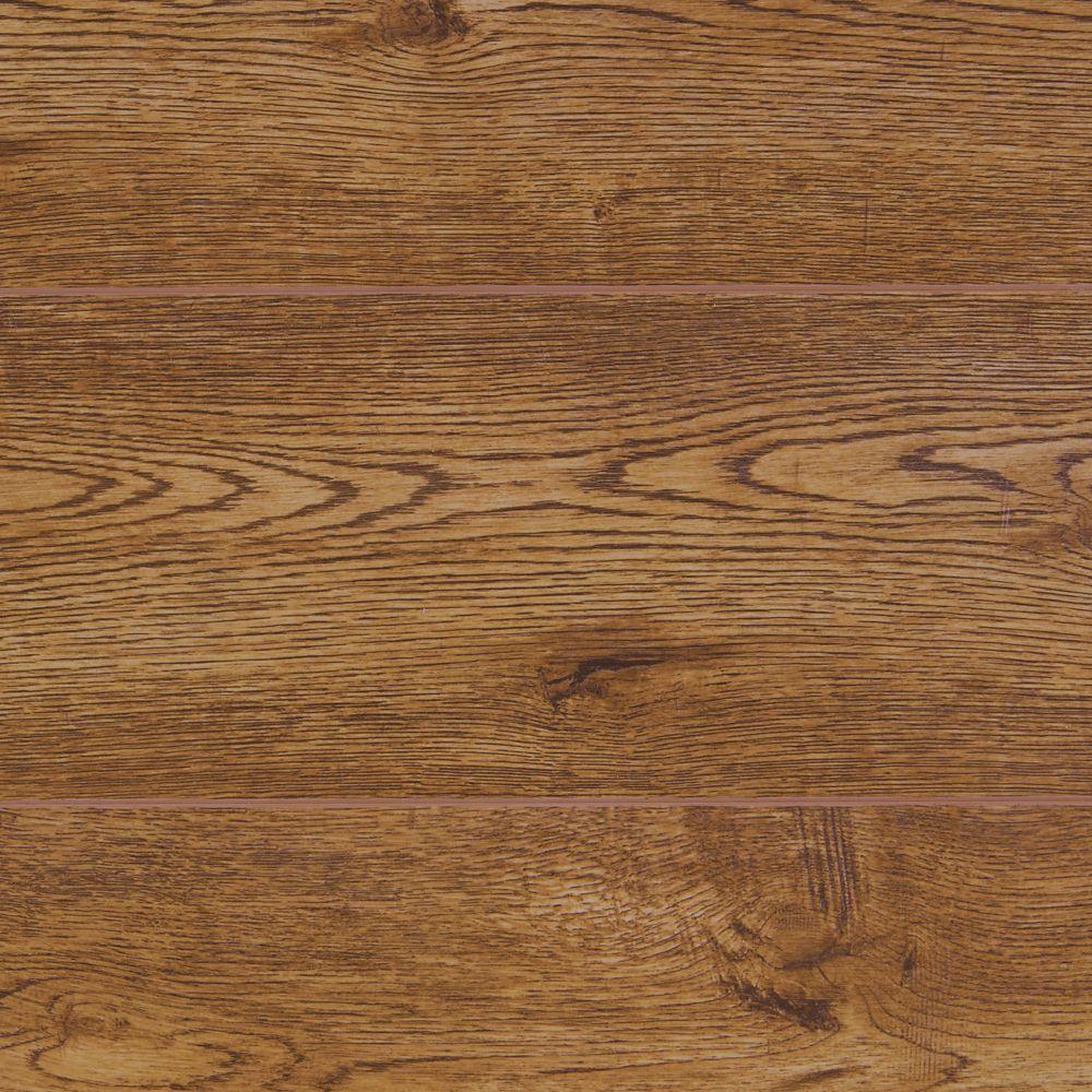 Laminate Flooring Accent Wall Random Arrangement: 12mm Harlow Oak Random W Random L Laminate Flooring (33.43