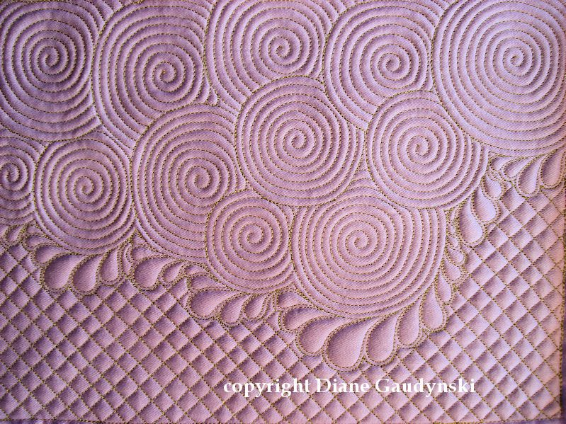 """Diane Gaudynski """"A New Tradition in Quilting"""": Celtic Bubbles Part II ~ Variations"""
