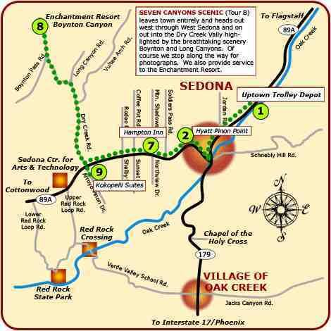 Vortex Map Sedona Arizona Google Search