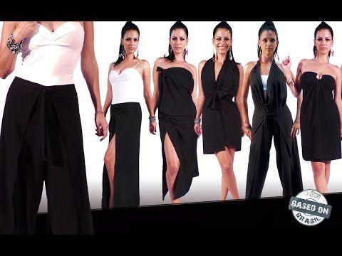 9014ea67d A Pantalona que vira macacão, saia e mais   Pantalona Infinity By Based on  Brasil - YouTube