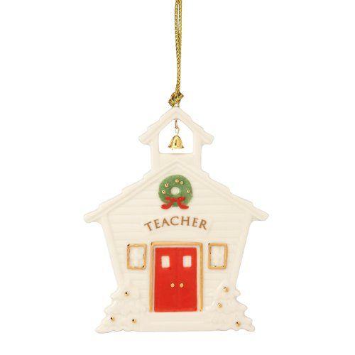 Lenox Teacher Ornament