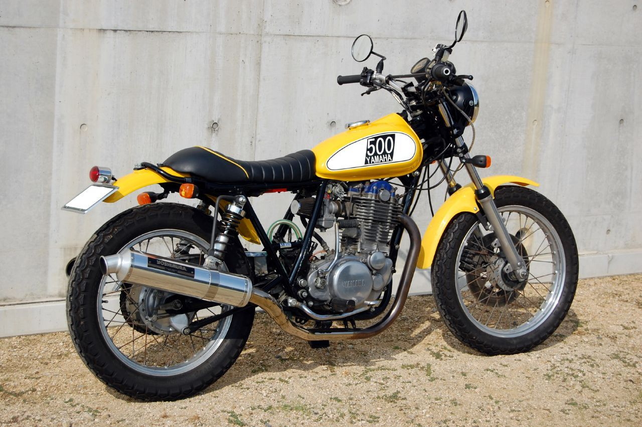 Otomotive Modification Yamaha Sr S A Tasty Pair Of Singles Yamaha Classic Motorcycles Motorcycle