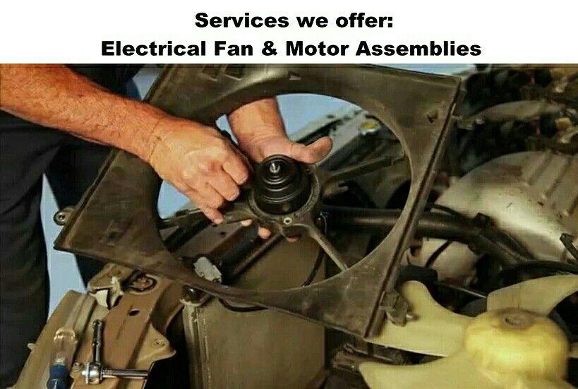 Electrical Fan & Motor Assemblies⠀ ⠀ MAJOR SERVICE JUST