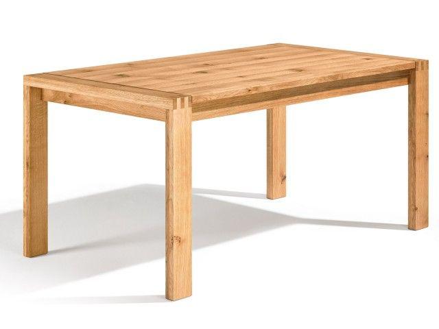 Der Maßtisch Loja 3 fällt durch seine gezinkten Tischbeine direkt ins Auge. Diese zeugen von hoher handwerklicher Tischlerarbeit. Natürlich gibt es für den Loja 3 auch unseren ein- oder zweifachen Kopfkulissenauszug. Die Daten: Ausziehbar? JA Länge: 80 cm - 300 cm Breite: 70 cm - 130 cm Besonderheit: Gezinkte Tischbeine