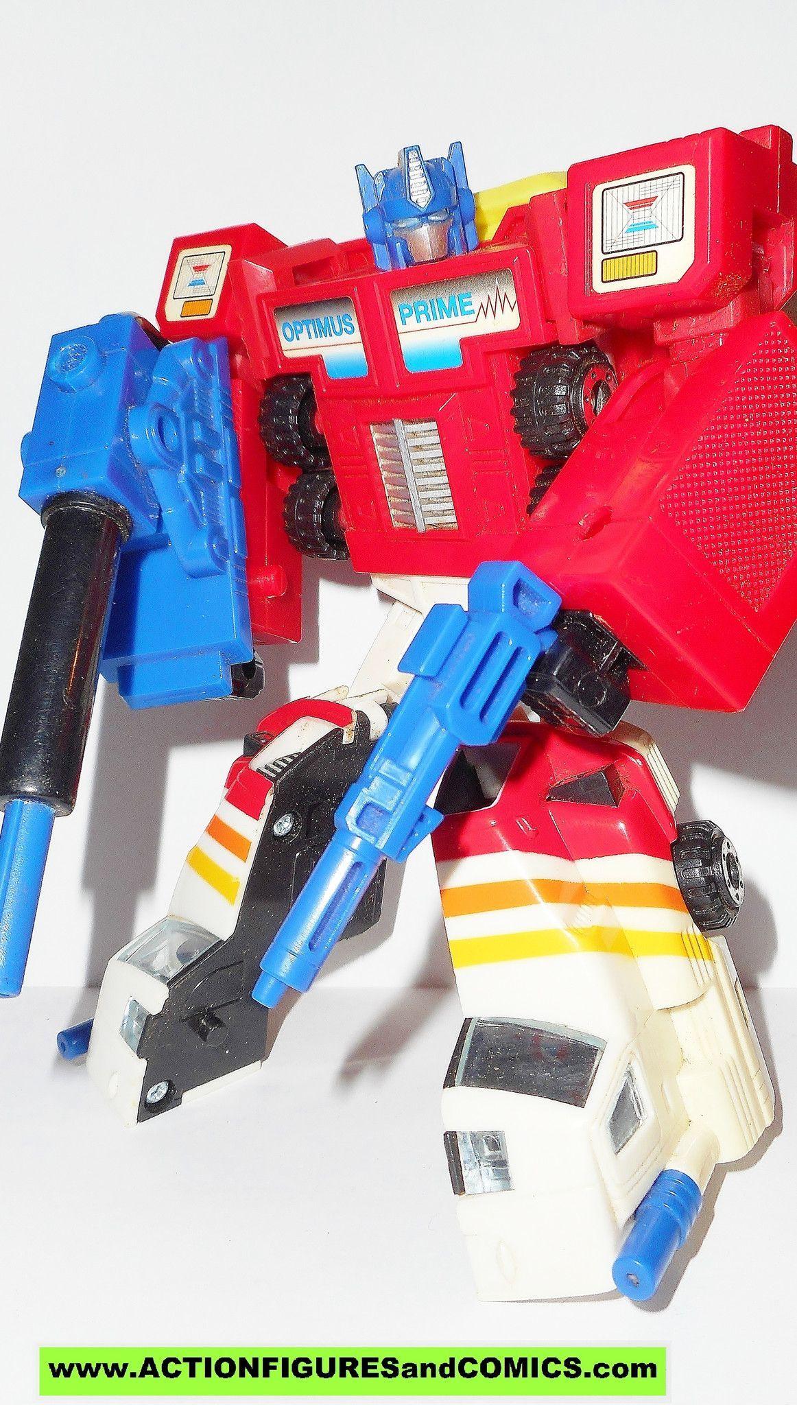 Vintage G2 Transformers Optimus Prime Red Missile