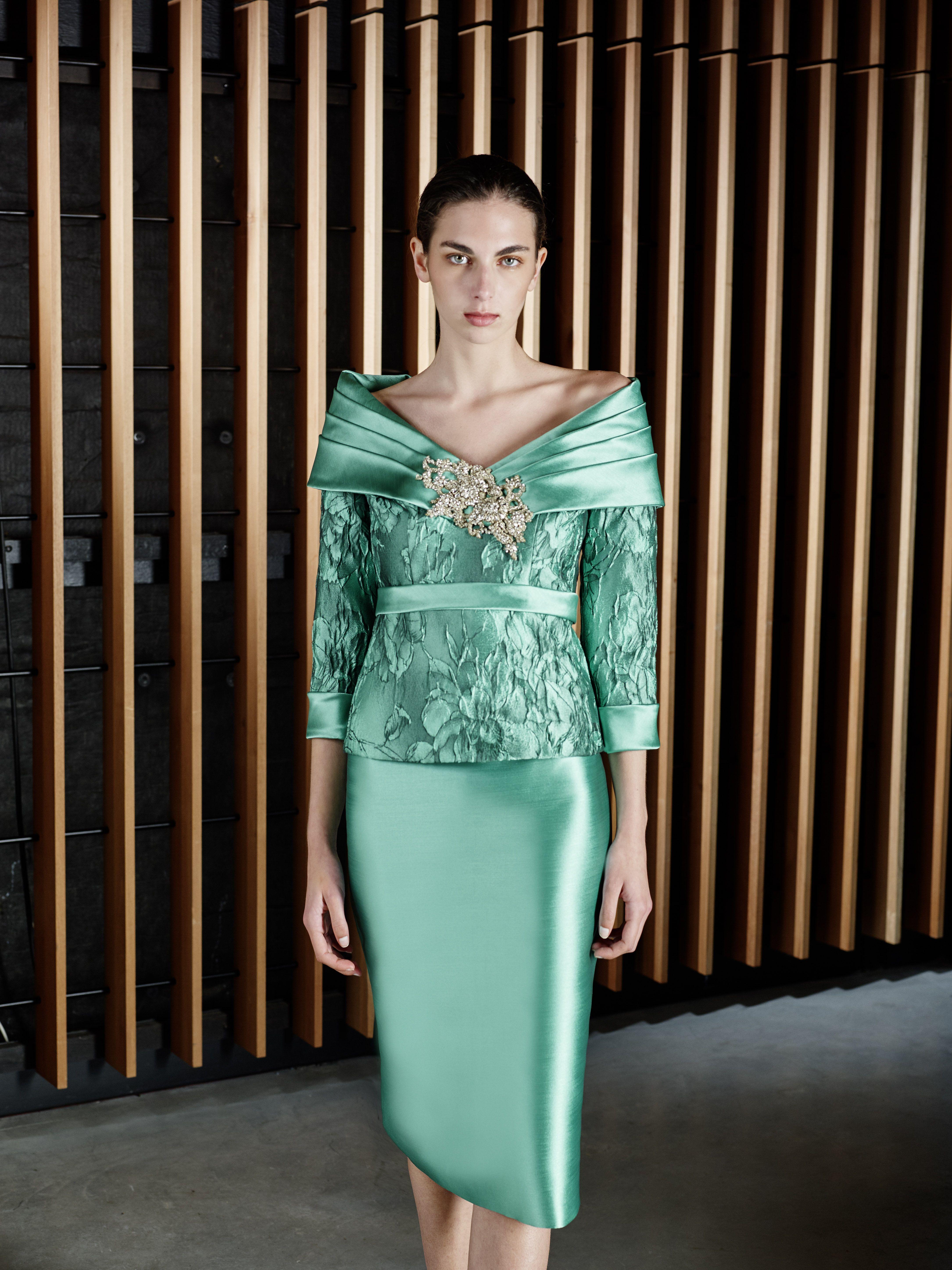 Vestido de fiesta de Patricia Avendaño colección 2017   Moda ...