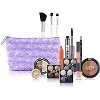 ULTA - FREE 15 pc gift w/any $19.50 select Ulta brand purchase in Lavender Cosmetic Bag #ultabeauty