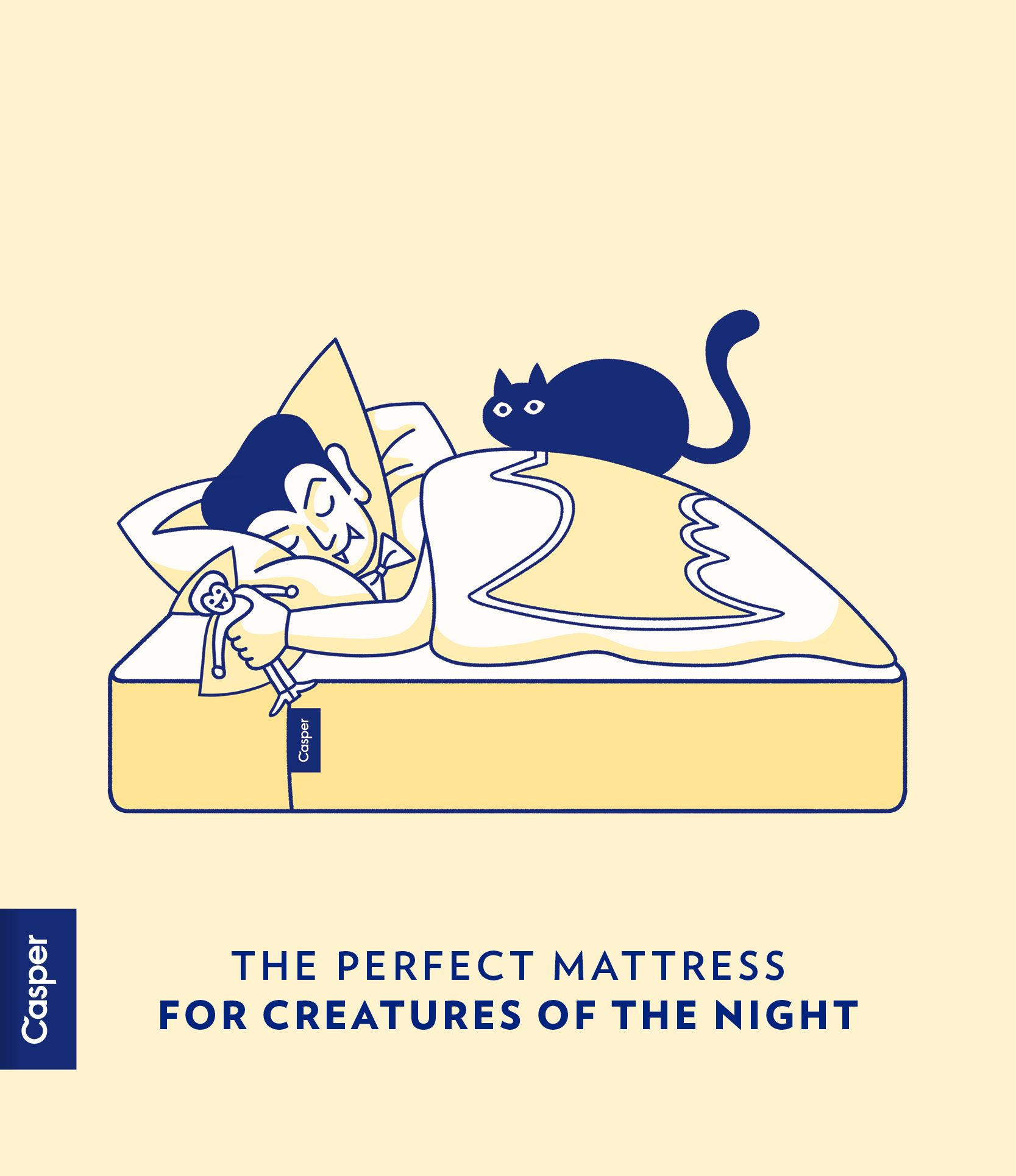 Casper The Perfect Mattress For Creatures Of The Night