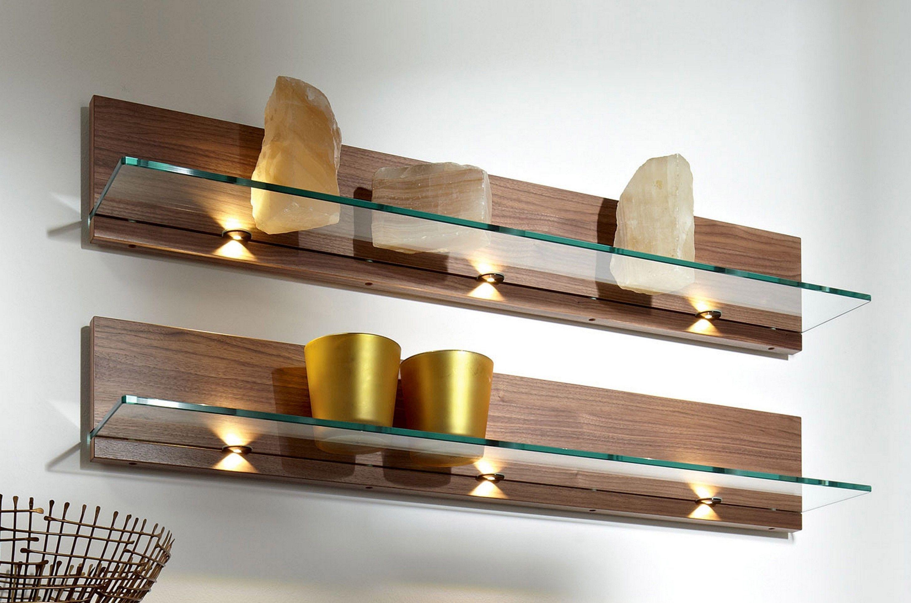 Image result for diy floating glass shelves
