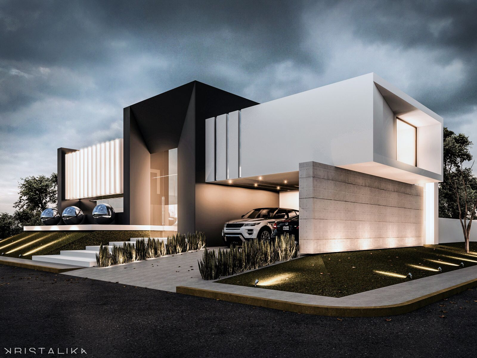 Contemporary House t house #architecture #modern #facade #contemporary #house #design