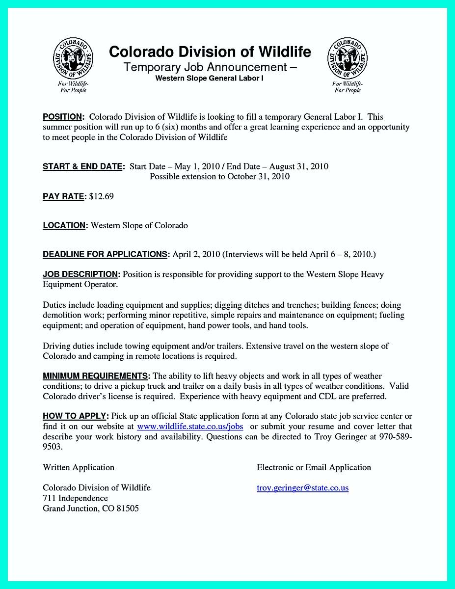 General Laborer Resume Awesome Awesome How Construction Laborer Resume Must Be Rightly Written .