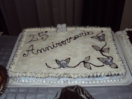 torte per anniversario di matrimonio con panna - Cerca con ...