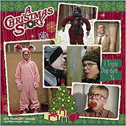 2018 A Christmas Story Wall Calendar (Day Dream). Price is $14.99 ...