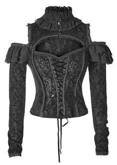 Gothic- / Mittelalter- Blusentop Melisandre