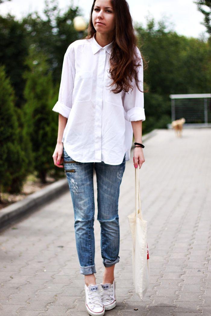white shirt via http://my-styleee.blogspot.com/