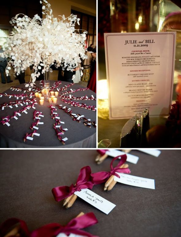 Silver Dollar Tree DIY Update : Wedding Terranea Wedding 08