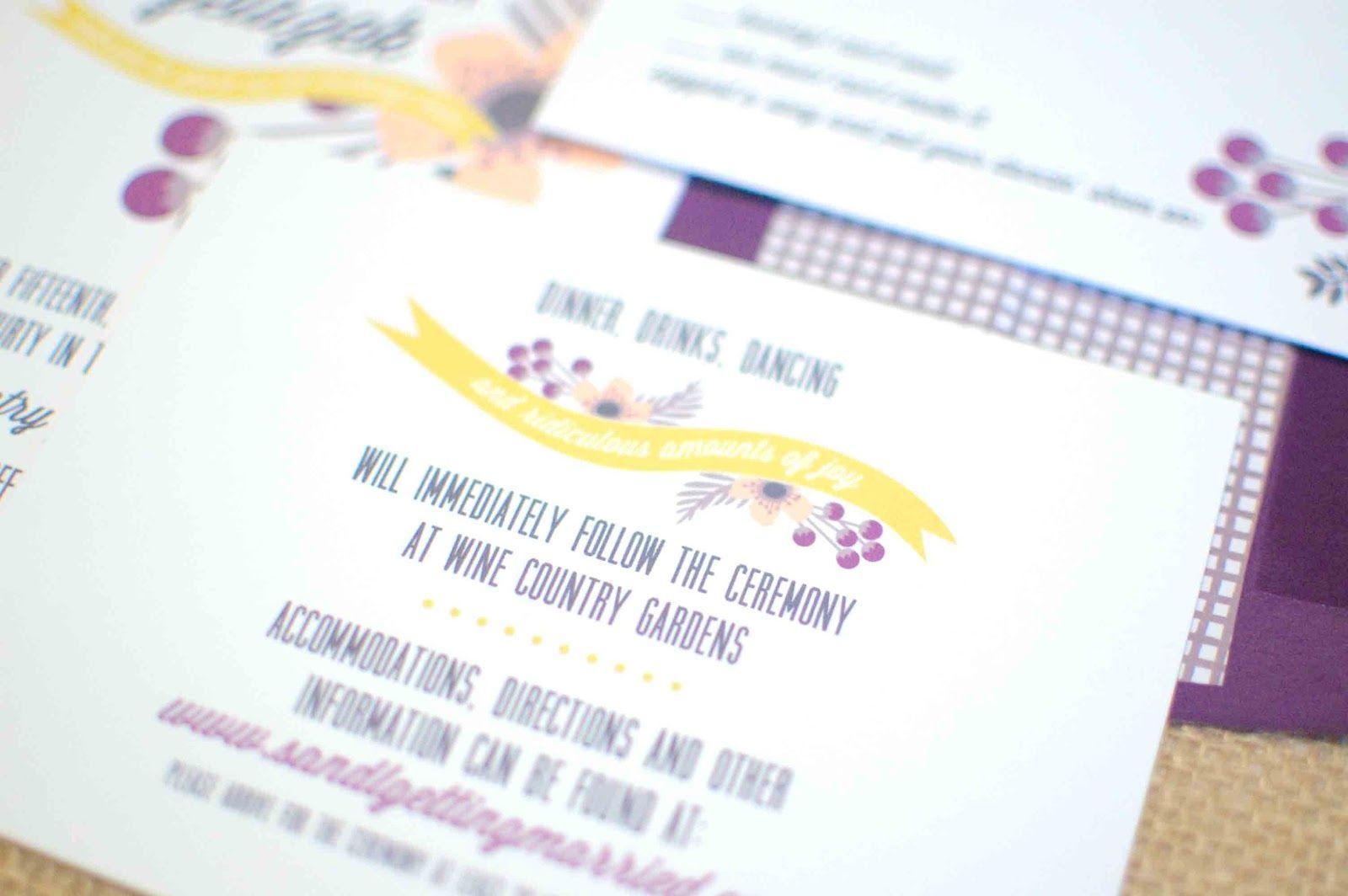 wedding reception card wording Google Search Wedding