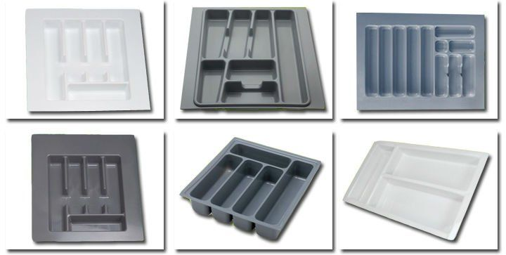 Custom Vacuum Forming Abs Plastic Kitchen Drawer Cutlery Tray Buy Cutlery Traydrawer Cutlery Traykitchen Cutlery Tray Product On Alibaba Com